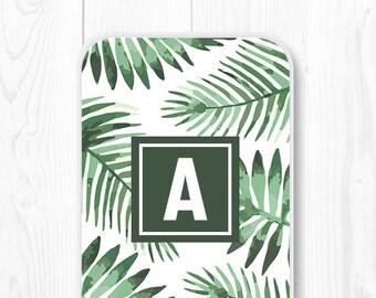 Samsung Galaxy S7 Case Monogram iPhone 6 Case Tropical Leaves iPhone 5s Case iPhone 5c Case Palm Leaves iPhone 6s Case iPhone 6 Plus Case