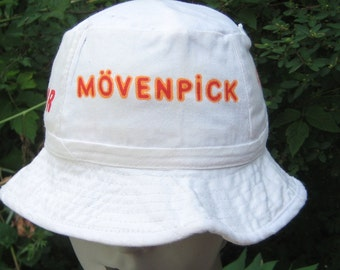 I went On Vacation Vintage 1970s Bucket Hat Hotels Movenpick Cairo Luxor