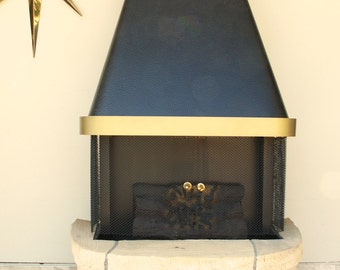 Vintage Faux Electric Fireplace