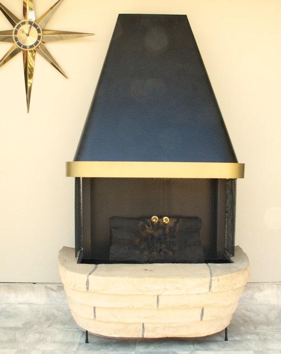 Vintage Faux Electric Fireplace