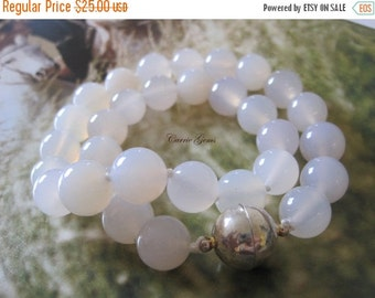 20% OFF ON SALE White Jade Hand knotted Necklace