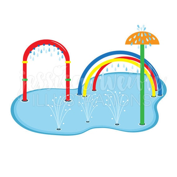 splash pad clip art cute digital clipart water park clip art rh catchmyparty com  water park slides clip art