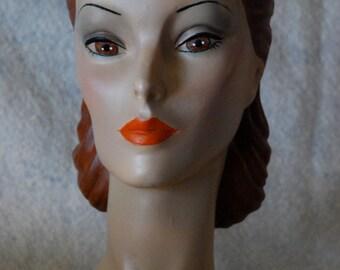 MannequinHead Sylvia #21 pllus 20.00 shipping USA. International contact me