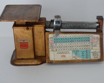Vintage Triner Air Mail Accuracy scale.