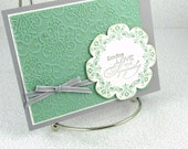 Price Slashed - Sympathy Card Handmade Condolences Praying for You Christian Comfort Compassion Empathy