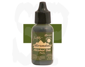 Ranger Tim Holtz Adirondack Alcohol Ink Earthtones PESTO Green