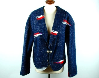 Santa Fe Style Knit Blanket Coat by Sage in Bloom