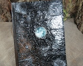 Full Moon Journal, Small Book of Shadows, Small Handmade Journal, Spell Book, RESERVED FOR SHANNON, Grimoire, Tarot Journal, Witch