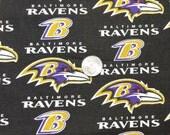 Fabric BTY  Ravens Football Fabric