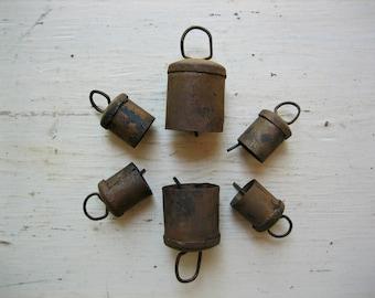 6 Rusty Old Bells