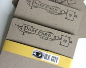 Letterpress Postcards: Bundle of Ten
