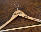 Personalized Dress or Suit Hanger
