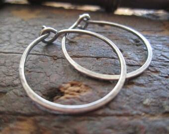 Classic Sterling Silver Hoop Earrings