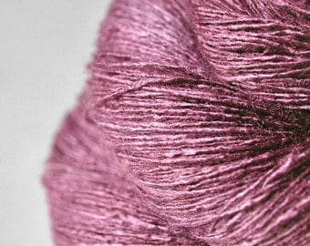 Magnolia lost in time - Tussah Silk  Lace Yarn
