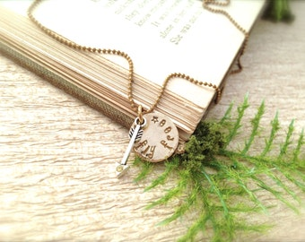 Arrow Fly Free Necklace
