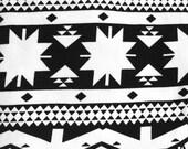 Baby Leggings - Baby Girl Leggings - Baby Boy Leggings - Black White Aztec - Gender Neutral