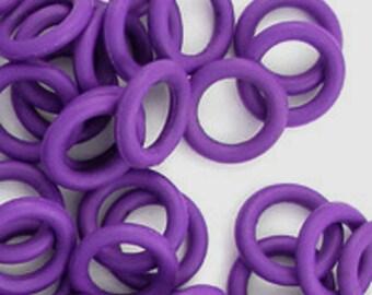 Rubber Rings: Purple, 9mm - #1087