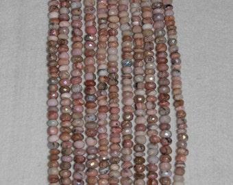 Amethyst, Cape Amethyst, Faceted Bead, Amethyst Bead, Semi Precious, Gemstone Bead, Natural Stone, Natural Amethyst, Sparkle, Full Strand,8m