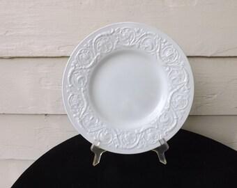 3 Wedgewood Patrician Dinner Plates Antique Vintage