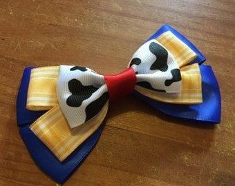 Disney Inspired Woody Cowboy (Toy Story) Hair Bow