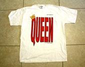 Queen T-Shirt / 90s Tee / Oversize Shirt