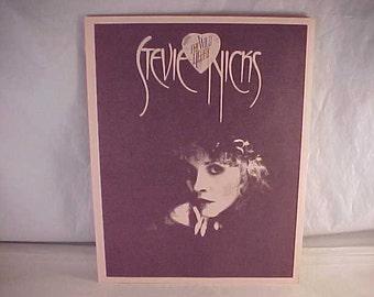 1983 Stevie Nicks The Wild Heart Album Insert Promotional Brochure