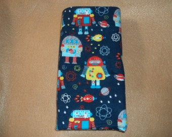 Space theme travel  size or toddler size pillow case