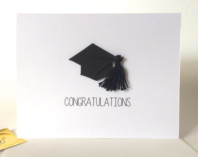 Congratulations On Graduating, Stay Away From Zombies, inappropriate graduation card, funny snarky card with charm