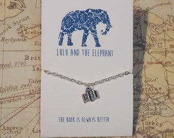 The Book Is Always Better - Silver Bracelet