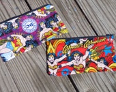 PICK your Wonder Woman pouch style DC