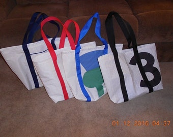 X-Large Recycled Sail Tote Bag