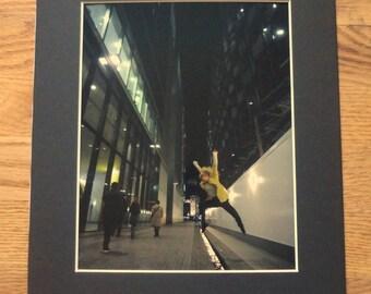 Jump - Contemporary Dancer in London 8x10 metallic print