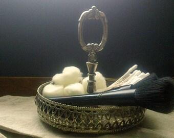 Vintage Silver Caddy, Nut/Candy Holder