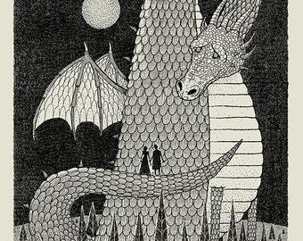 Dragon Hearts silkscreen