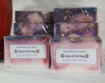 Adam and Eve Soap Jabon Wicca Pagan Spirituality Religion Ceremonies Hoodoo Metaphysical MaidenMotherCrone
