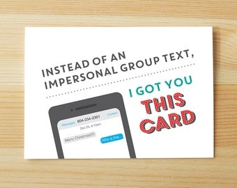 Instead of an Impersonal Text...