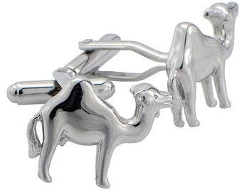 Camel Cufflinks Silver Cuff Links 1200315