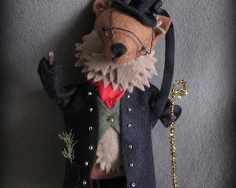 The Sly Fox Ornament E-PATTERN by cheswickcompany