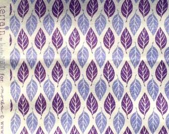 Terrain Kate Spain leaves purple moda fabrics FQ or more