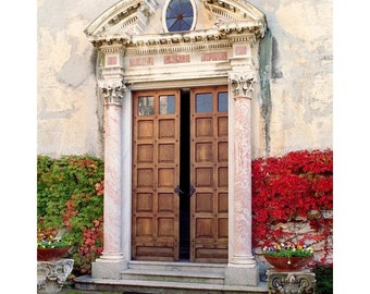 "Fine Art Color Architecture Photography of Door - ""Doorway at Villa Monaseterro"" (Lake Como, Italy)"