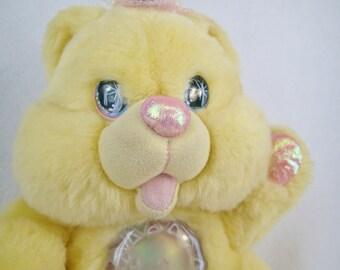 Twinkle Bears Plush Light Up Teddy Yellow Sunshine By FantFantasy Original Vintage Kawaii fairy Kei Toy