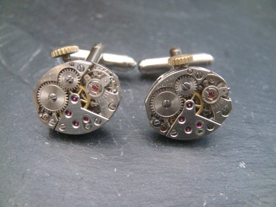 Vintage Mens Cufflinks ideal gift for the cuff link lover at christmas