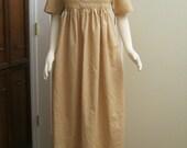 Cotton Regency Gown 14-16