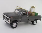 1970 Ford F-100 Custom 4 x 4 Pickup Truck - CHRISTMAS Ornament or Embellishment - Christmas Gifts