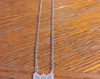 Beaded Bow tie Necklace.