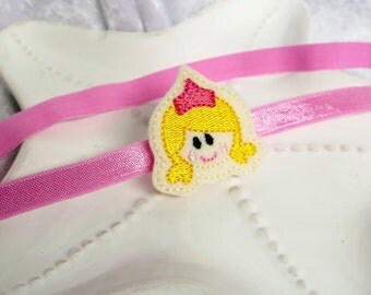Princess Aurora or Sleeping Beauty Inspired Princess Headband or Hair Bow- Adorable Accessory for Disney Trips