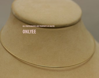 10PCS-1.18mmBright Gold Plated Brass Snake Chain Blank Collar choker Necklaces(E2902G)