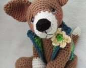 SALE Crochet Pattern Chiwawa Dog by Teri Crews instant download PDF format