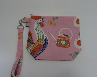 Small Rooster Project Bag  #2