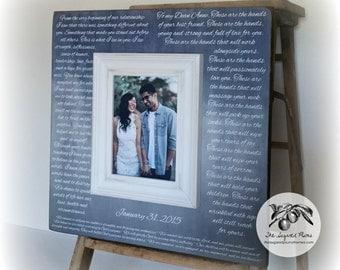 wedding vows wedding vows framed first anniversary gift wedding vow keepsake first dance lyrics frame 16x16 the sugared plums frames